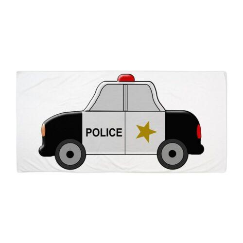 1444116609 CafePress Police Car Beach Towel