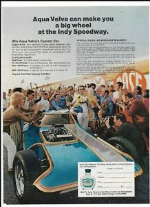 Vintage-1971-Aqua-Velva-Dave-Puhl-Illusion-Indy-Speedway-Magazine-Ad