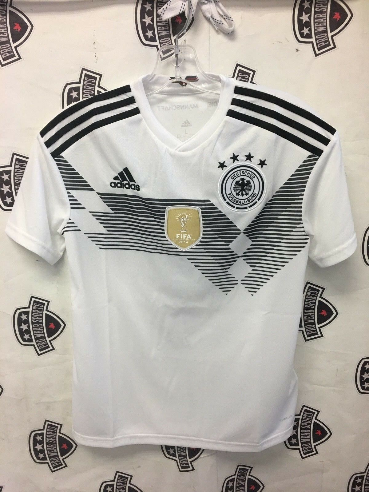 Germany 2018 World Cup Home White Jersey XL