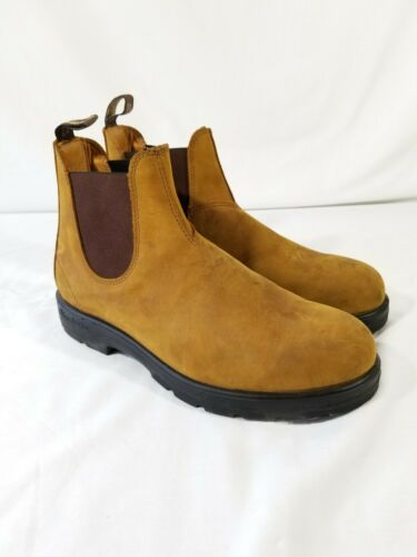Blundstone 550 Blonde Tan Leather Chelsea Boots Me