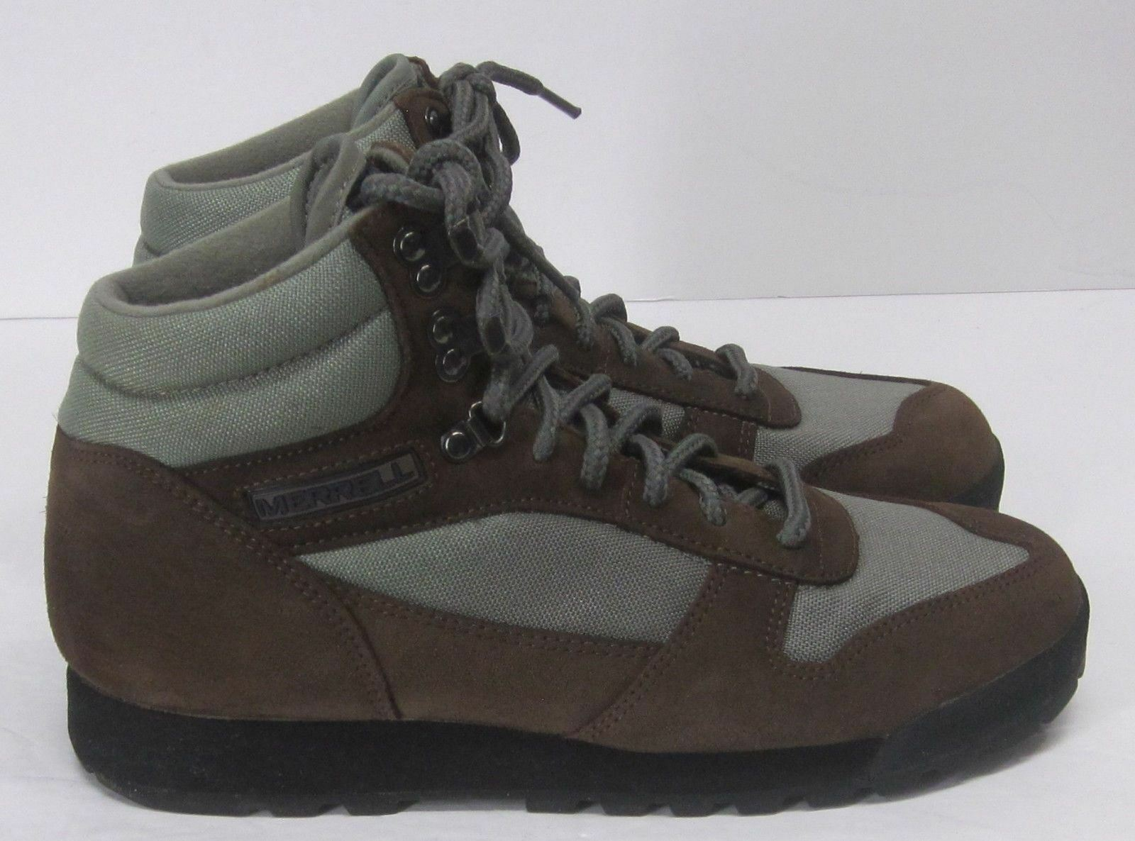 MERRELL AIR CUSHION BIG 5 LADY PLACER SAGE WOMEN'S (10) ANKLE BOOTS SUEDE & MESH