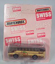 Matchbox MB67Ikarus Coach Swiss Collection Bus Marti Reisen Die Cast Scale Model