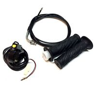33cc Zooma Throttle Kit Cable + Grips + On/off Switch Standing Gas Scooter