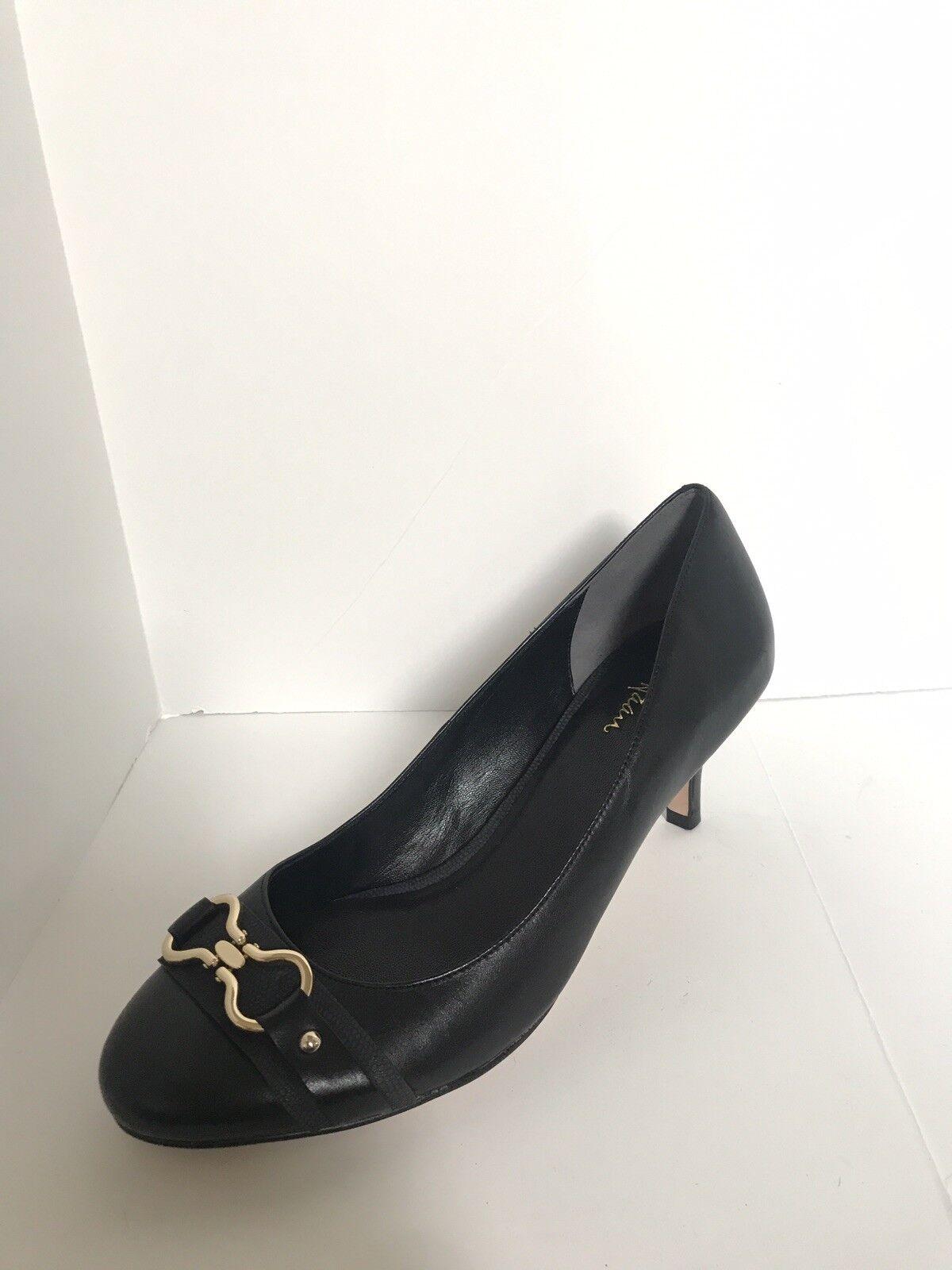 Women's Women's Women's Cole Haan NikeAir Low Black Heels Size 10 AA 052960