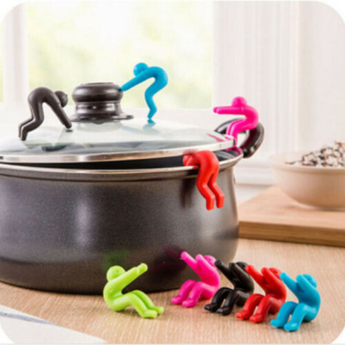 6 Colors Kitchen Silicone Gadgets Raise The Lid Overflow Device Stent Tools New