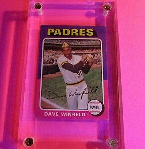 1975-TOPPS-DAVE-WINFIELD-61-PADRES-HOFer-VgEx