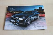 139001) Mercedes E-Klasse W212 T-Modell Prospekt 10/2012