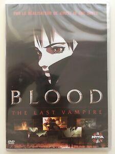 Blood-the-last-vampire-DVD-NEUF-SOUS-BLISTER-Film-d-039-animation-Hiroyuki-Kitakubo