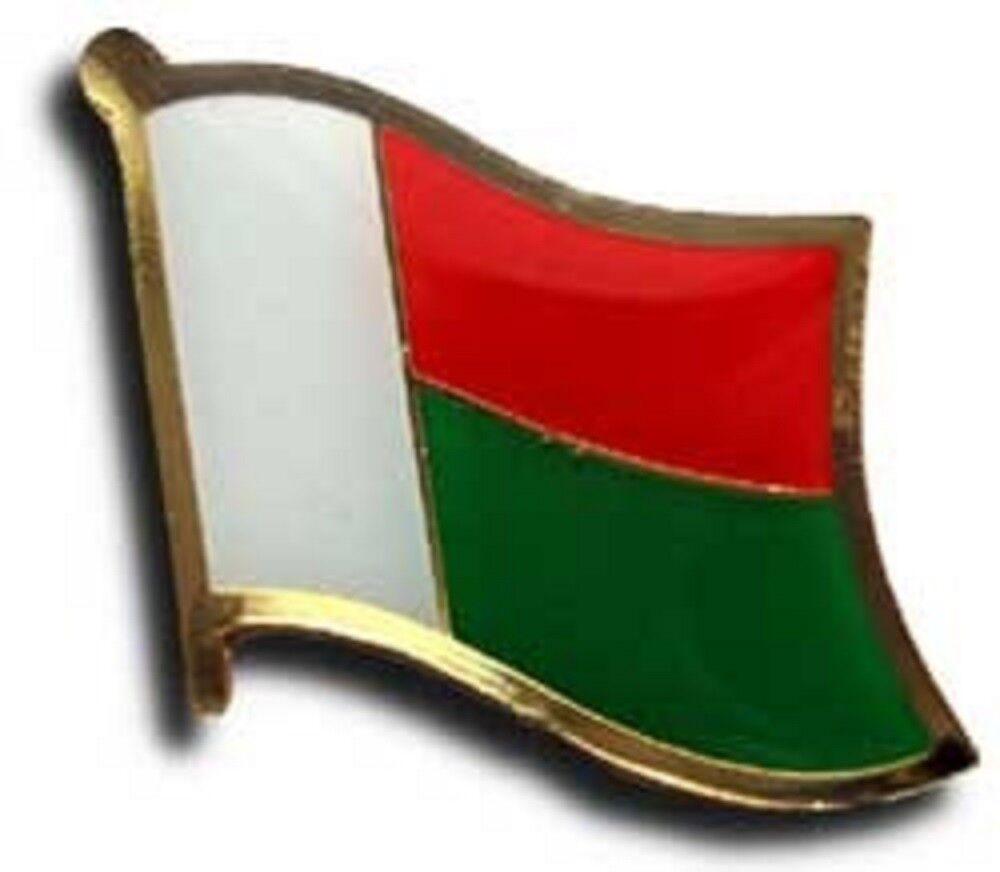 Großhandel 50 Stück Packung Madagaskar Landesflagge Fahrrad Hut Kappe
