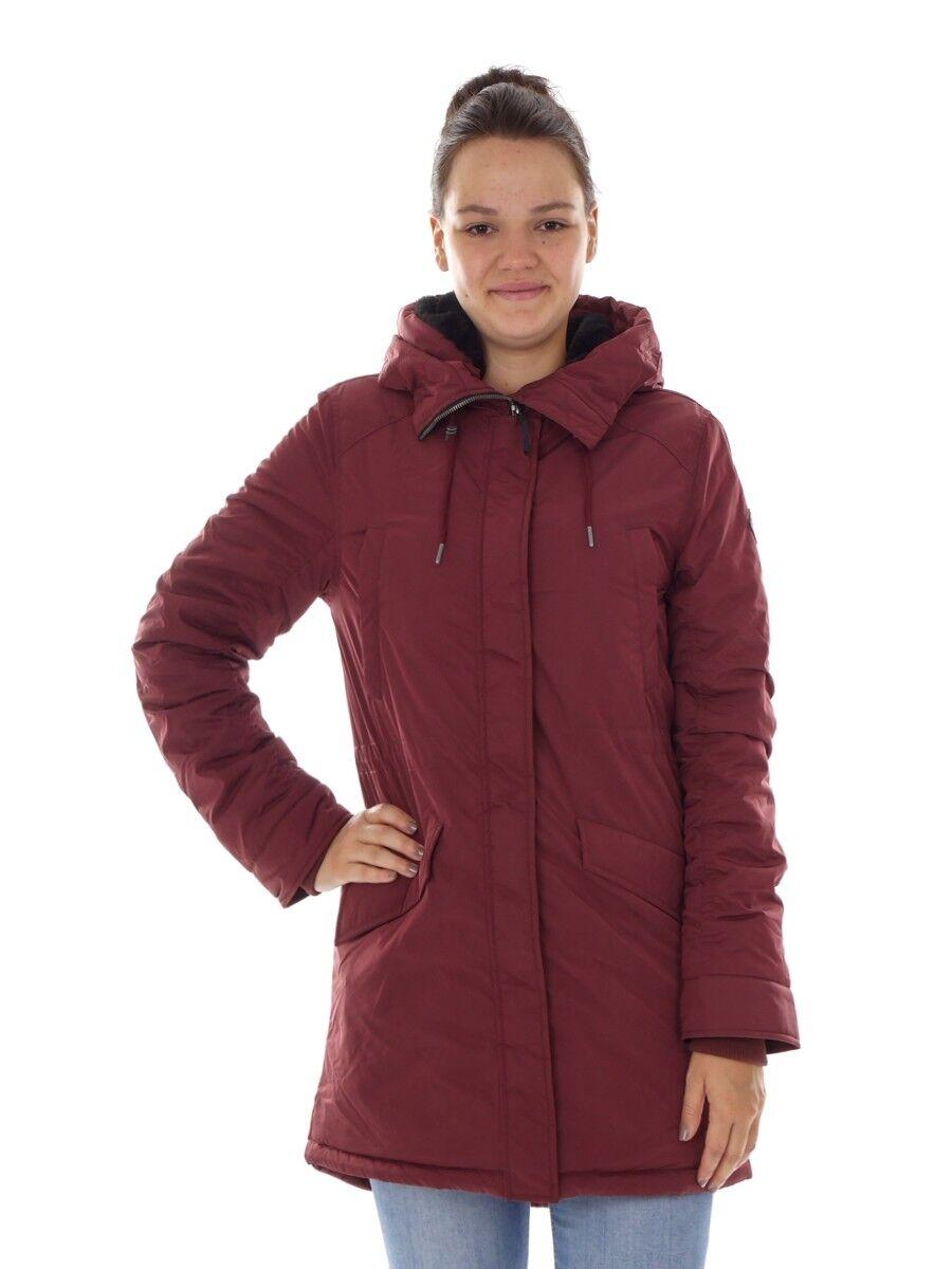 O ' Neill parka invierno abrigo chaqueta roja chaqueta forrada calentamiento