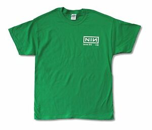 NINE-INCH-NAILS-TENSION-2013-TOUR-CREW-GREEN-T-SHIRT-NEW-OFFICIAL-ADULT
