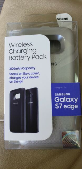 new concept 97095 9f856 Samsung Galaxy S7 Wireless Charging Battery Pack Case Black