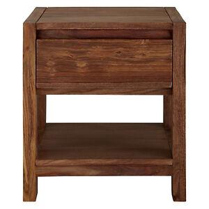 john lewis samara solid sheesham side table with drawer. Black Bedroom Furniture Sets. Home Design Ideas
