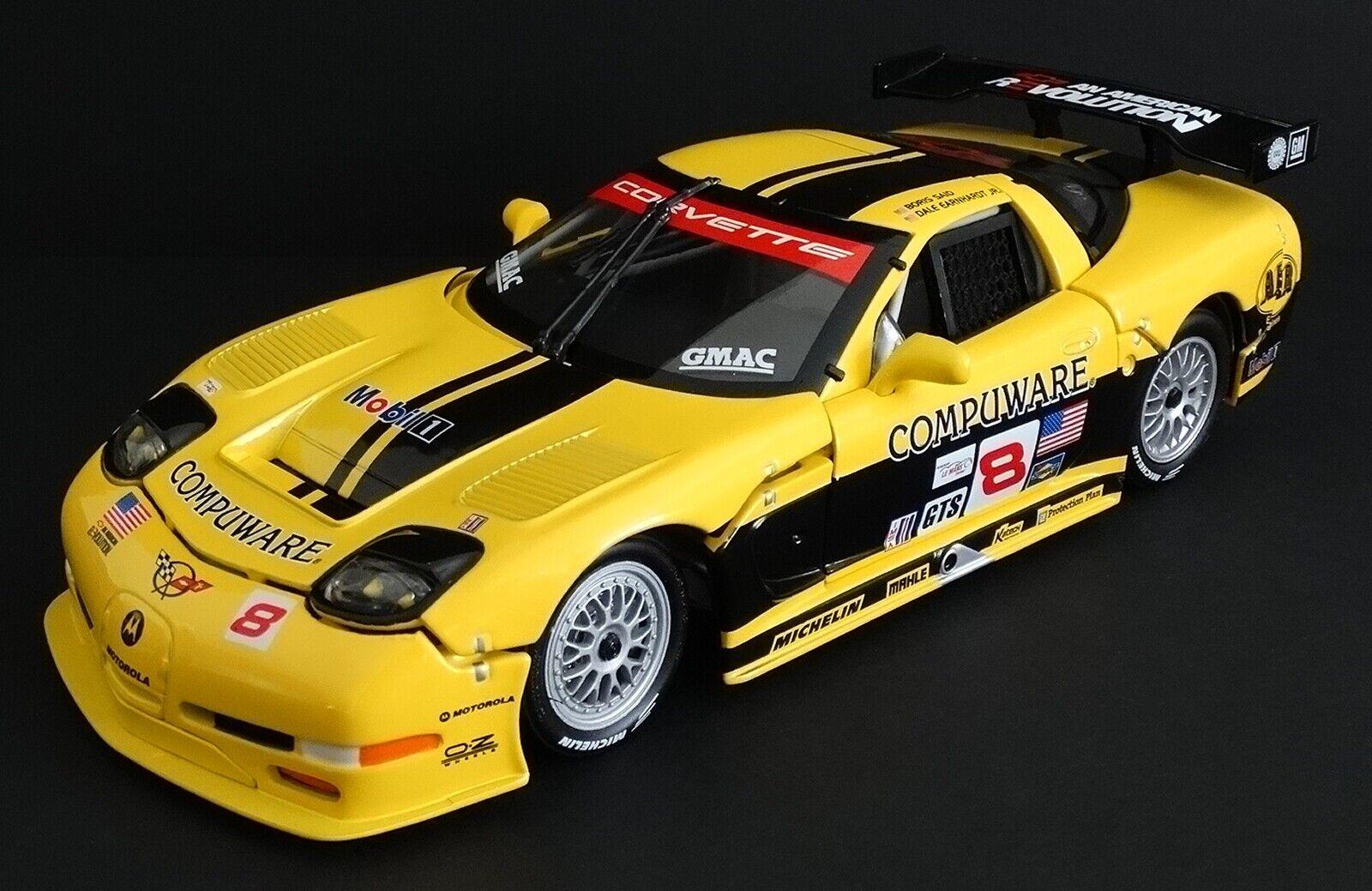 Dale Earnhardt, Jr Boris Said Compuware 1 18 verkan FIERY 2004 Corvette C5R