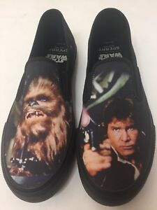 Star Slip Mens Wars Han Solo Sider Top Sneakers on Schoenen Sperry Chewbacca 5 9 qTdxw8t8