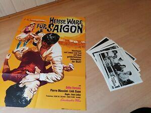 Heisse-Ware-fuer-Saigon-1-Kinoplakat-20-Aushangfotos