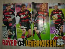 Poster Bayer 04 Leverkusen/Borussia Mönchengladbach  aus der Bravo Sport