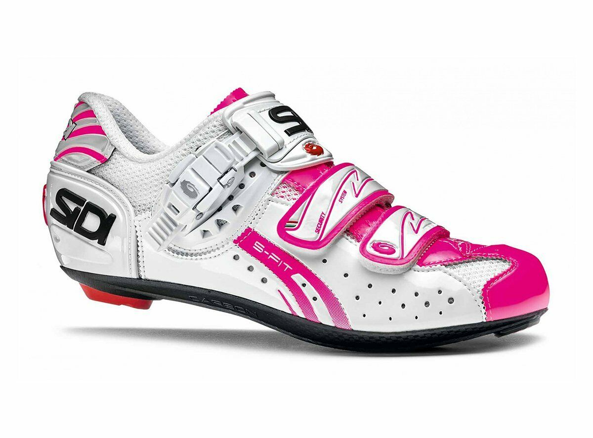 Sidi Genius 7 Road Cycling shoes Women White-Pink Eu 39   enjoy saving 30-50% off