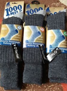 1000-Mile-Men-039-s-Ultimate-Heavyweight-Walk-sock-Sizes-Extra-Large-Large-Medium