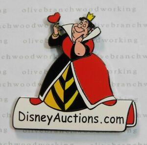 Disney Auction Pin A Palooza Queen Of Heart Alice In Wonderland Da Com Logo Gwp Ebay