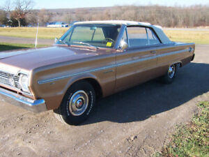 1966 plymonth convertible  belvedere ll convertible