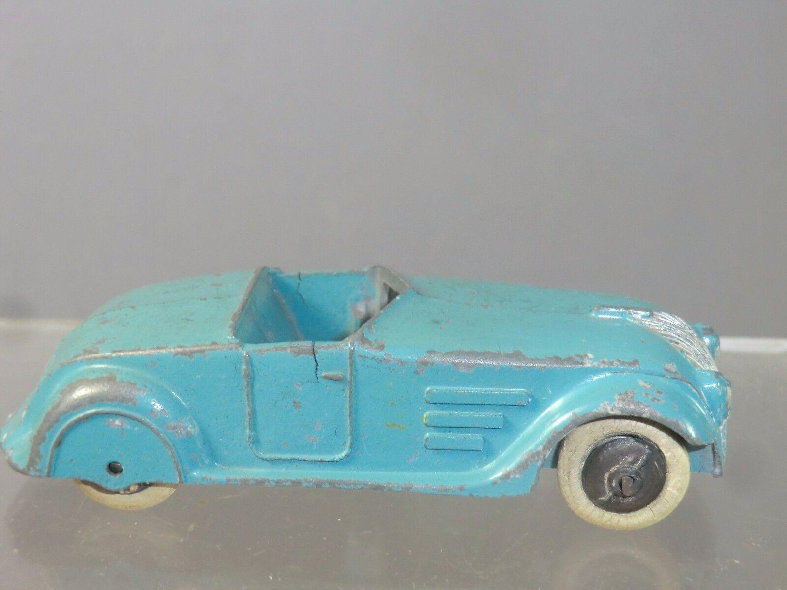 VINTAGE Dinky Toys modello No.22G versione semplificata TORPEDO azul  RARO