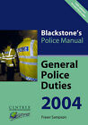 General Police Duties: 2004 by Fraser Sampson (Paperback, 2003)
