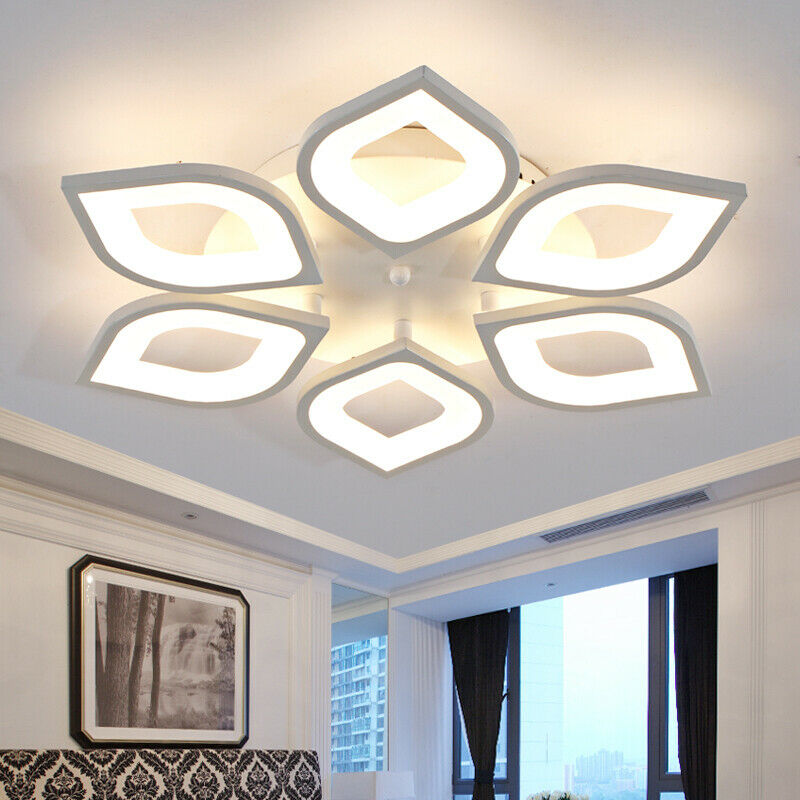 Acrylic Petal Led Ceiling Light Ceiling Lamp Bedroom Lighting Ceiling Fixtures For Sale Online