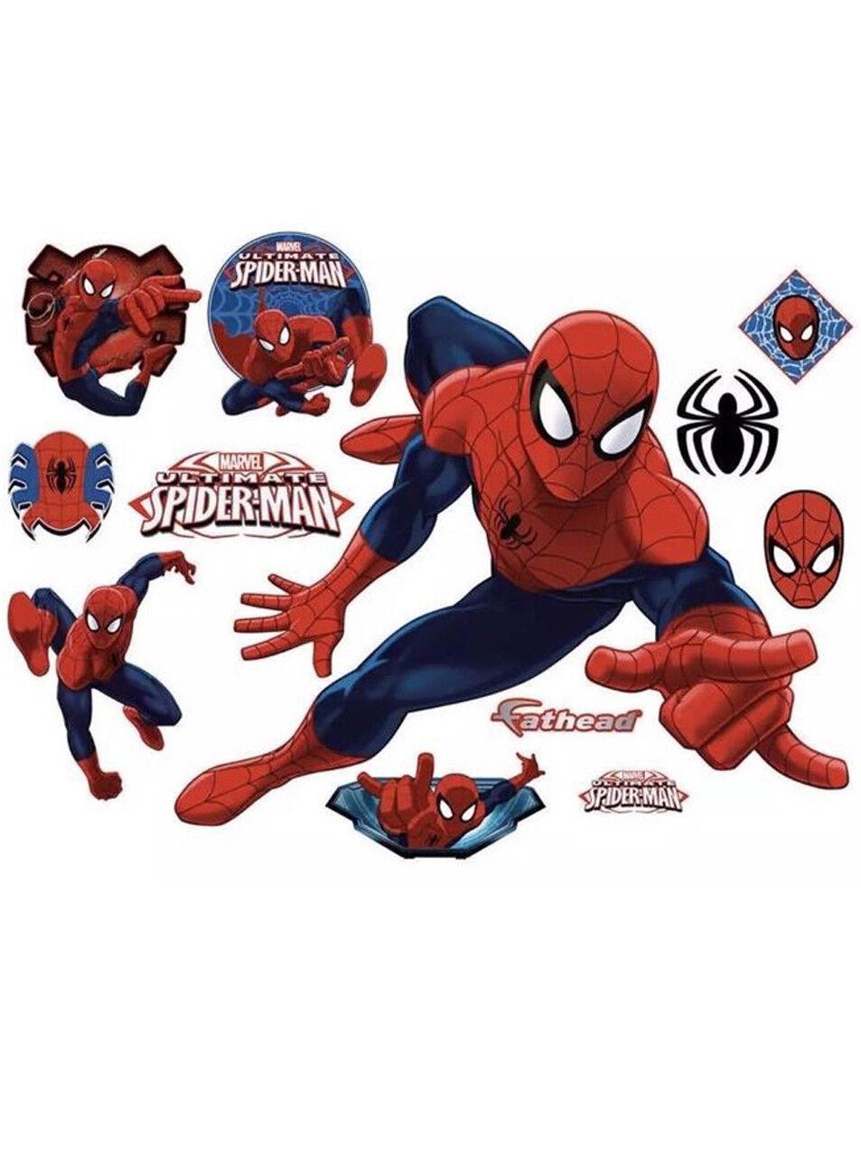 Ultimate Spider-Man Fathead Marvel Comics Real Big Wall Decor New 96-96091