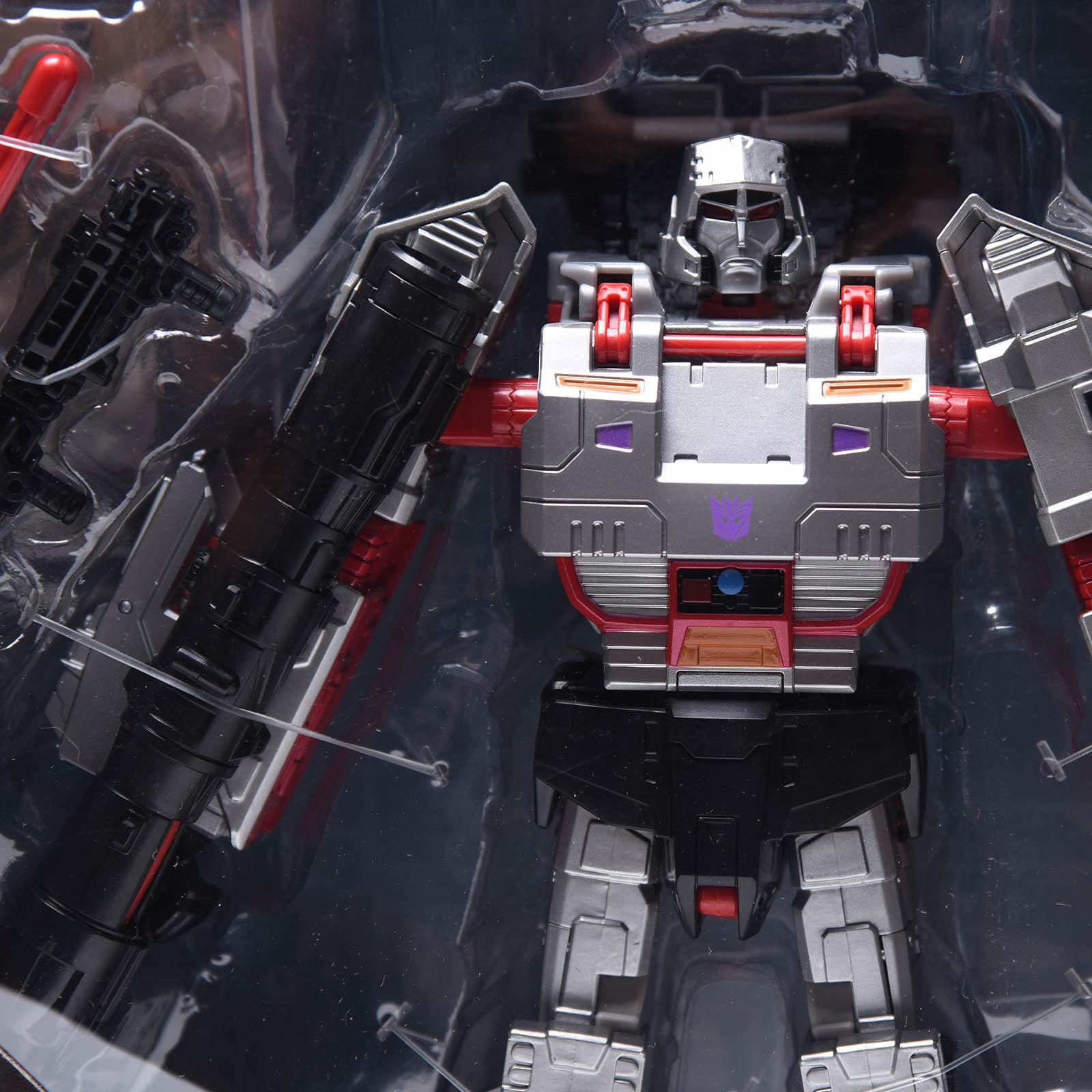Megatron Transformers Combinador guerras Leader Class Regalo De Navidad