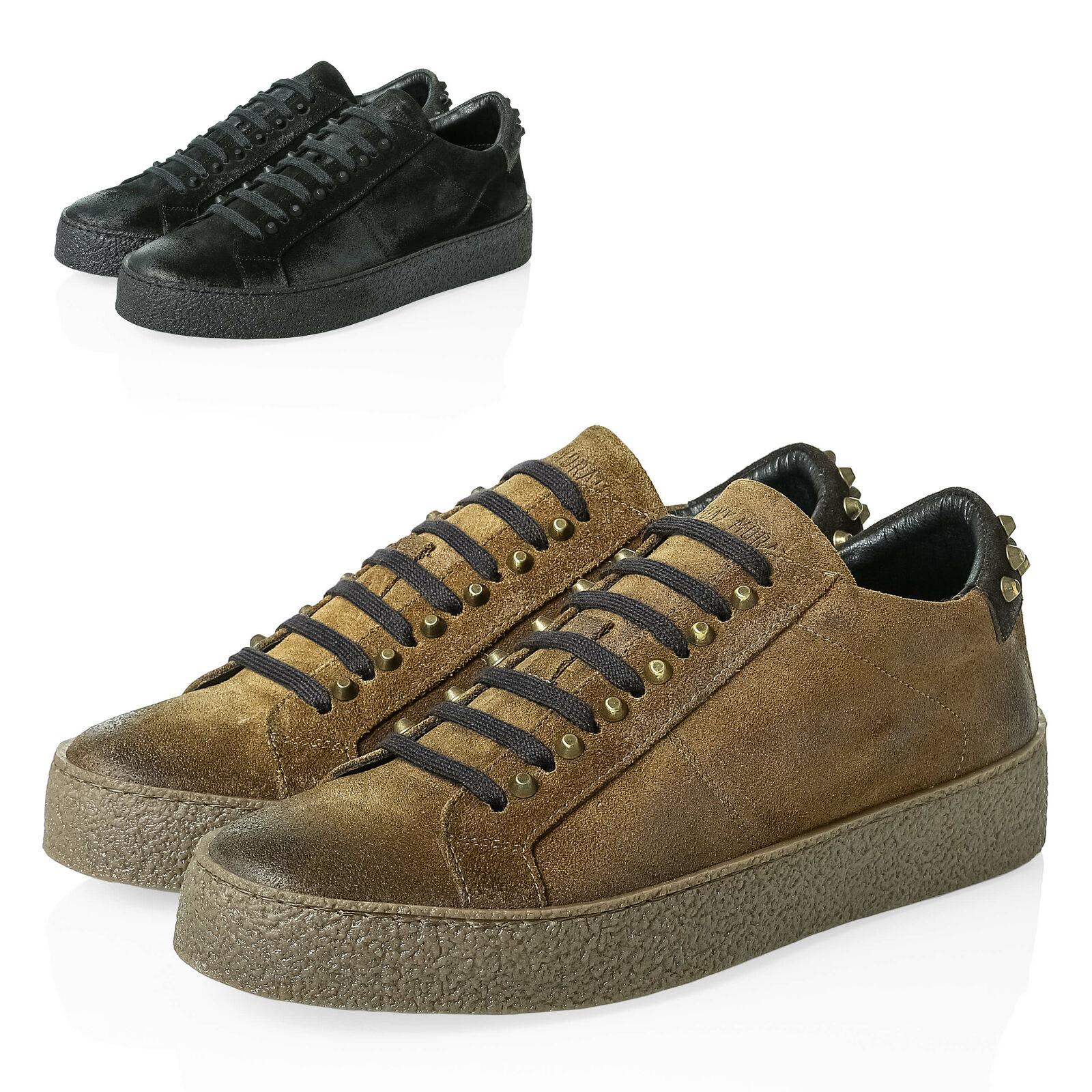 Turnschuhe Herren Morato Antony Low Top Schuhe Lederschuhe