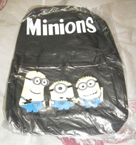 Despicable Me Minions Casual Large Canvas School Bag Backpack