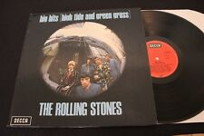 THE ROLLING STONES : Big Hits (High Tide...) LP DECCA Teldec TXS 101 Germany