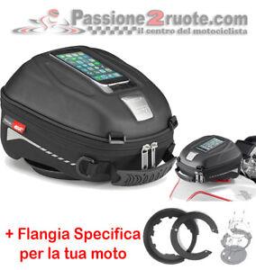 FLANGIA BF 11 COMPATIBILE CON DUCATI MULTISTRADA 1200 2010 BORSA DA SERBATOIO GIVI EA123
