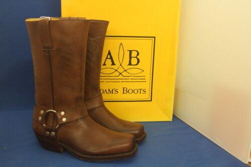 Leder Top Western Braunes Cowboystiefel Neu 38 Boots Adam Handmade Gr Biker An5XCq