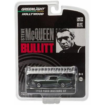 Greenlight HW Bullitt 1968 Ford Mustang GT CHASE CAR 1:64 Diecast Car 44721