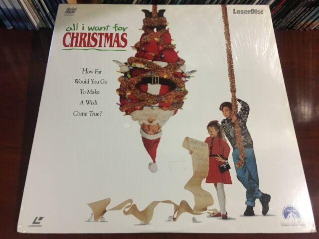 ld laserdisc all i want for christmas 1991 jamey sheridan new unopened sealed - All I Want For Christmas 1991