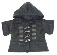 Teddy Bear Clothes Fit Build A Bear Teddies Black Duffel Coat Bears Clothing