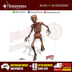 FREE-EXPRESS-POST-DURAMESH-FULL-COLOUR-ZOMBIE-TARGET-FACE-ARCHERY-HODDYWELL