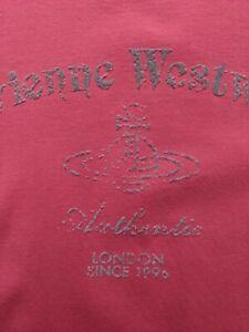 Vivienne Westwood Man T-Shirt Herren Größe L/XL Cool Style & DESIGN Flock Print