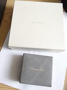 Box für Collier Nina Ricci und Etui/Box Christian Dior - <span itemprop='availableAtOrFrom'>Karlsruhe, Deutschland</span> - Box für Collier Nina Ricci und Etui/Box Christian Dior - Karlsruhe, Deutschland