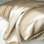 thumbnail 6 - 100% Mulberry Silk Pillowcase Both Side 22 Momme Champagne Gold Standard Size