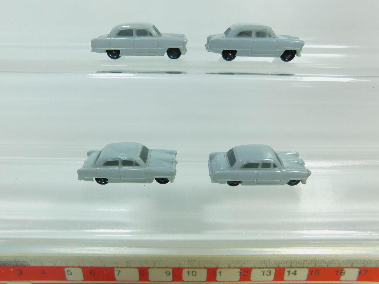 Bp686-0, 5x Märklin h0 CAR FORD TAUNUS 12 M for 4613 Car Transport Wagon, S.G.
