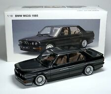 BMW M535i E28 1:18 diamantschwarz diamond black met. Umbau rebuild ALPINA B7 B10