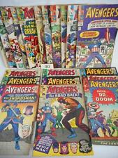 20- The Avengers Comics Lot 30