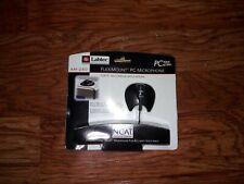 New Labtec AM-240 Fleximount Desk//Monitor Mount Voice Access PC Microphone