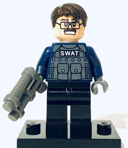 Lego Batman Commissioner Jim Gordon Swat Vest Dark Knight Authentic Minifigure