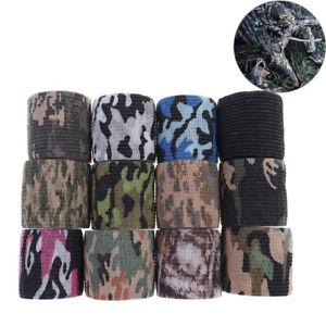 1Pc-5Cm-X-4-5M-Waterproof-Hunting-Camouflage-Camouflage-Stealth-Tape-Elasti-QA