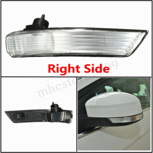 Right Wing Mirror Indicator Turn Signal Light Len Cover For Ford Focus 2008-2016