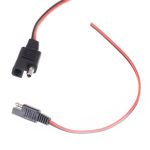 Brilliant 30Cm 18Awg Battery Tender Sae Diy Cable Dc Power Diy Cable Connector Wiring Cloud Oideiuggs Outletorg